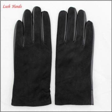e26678a63bc8 new style custom made suede colorful leather hand gloves women gloves