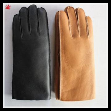 2016 men's new style high-quality double face leather gloves for foreign trade