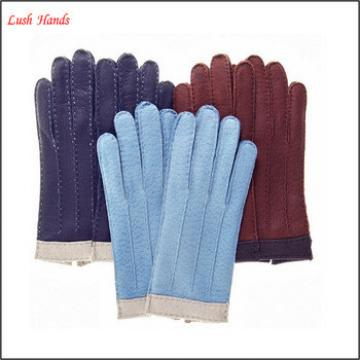 hot sale women fashion leather gloves for winter