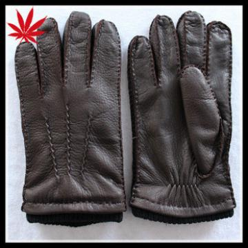 Costume mens dress deerskin leather gloves