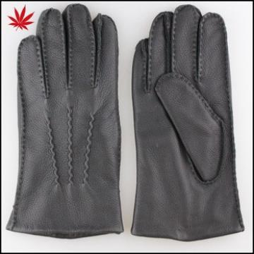 Men's deerskin leather gloves importers made in China supplier