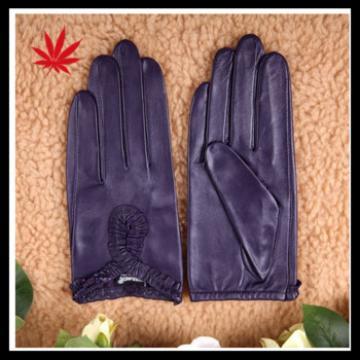 Genuine Sheepskin Leather Driving Gloves unlined women