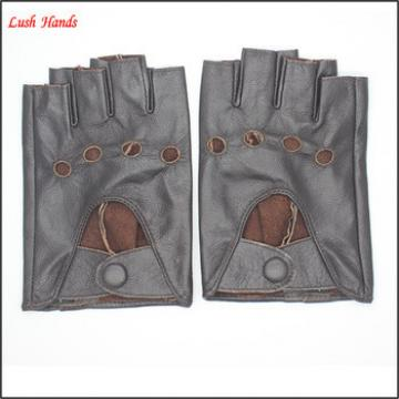Men's fashion driving leather gloves