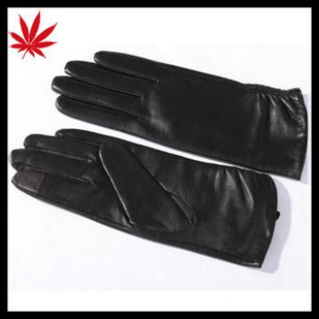 Women Touch Screen GENUINE Soft Nappa LAMBSKIN Leather Gloves Winter Driving