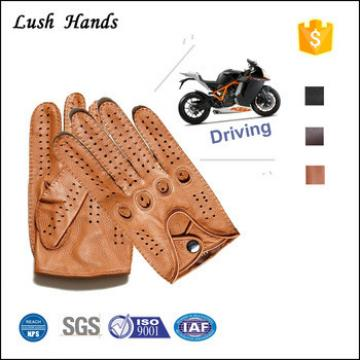 Locomotive model deerskin gloves outdoor sports gloves leather motorcycle racing gloves