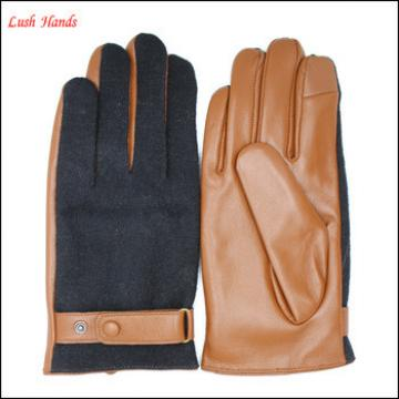 leather gloves mens with woolen and hand gloves manufacturers in china
