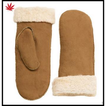 Women's Sheepskin mitten Gloves