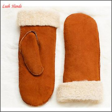 wholesale Ladies double face gloves leather gloves