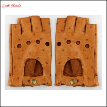 Women's driving leather gloves goatskin handmade leather gloves