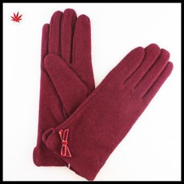 womens clothes flowers and shirt stitching style gloves