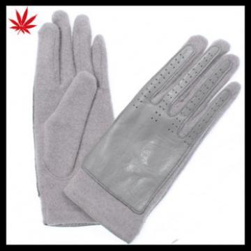 Women sweet warm woolen gloves fashion wool gloves