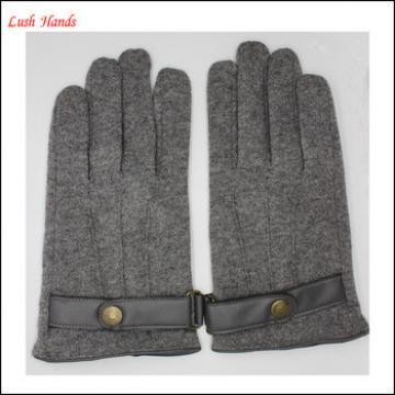 2016 Spandex velvet gloves with belt buckle