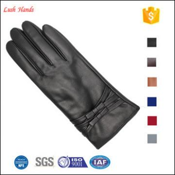 2017 new style women 's fashion winter daily leather gloves