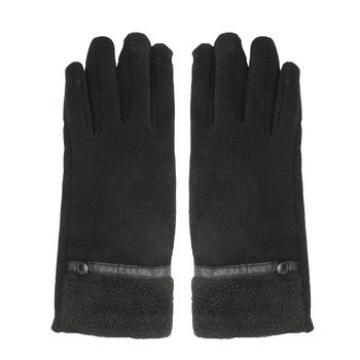 women sex dress hello woolen gloves with leather watch strap
