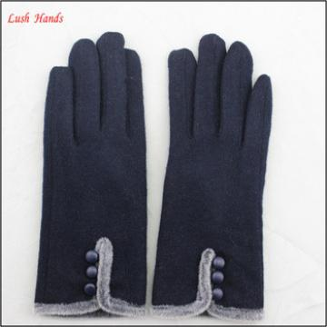 Fashion warm faux fur winter women gloves