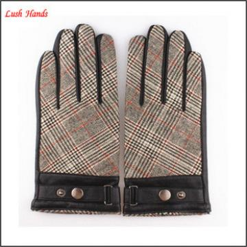 Men's fashion dressing leather gloves hand gloves manufacturers in china