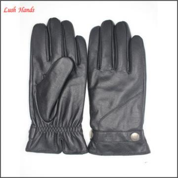Boys fashion dress gloves with genuine leather belts
