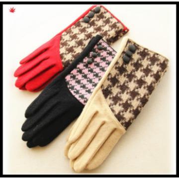 ladies fashion cheap woolen gloves in vogue
