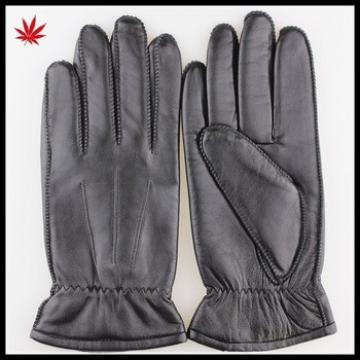Men's New Style High Design Soft Sheepskin Leather Gloves