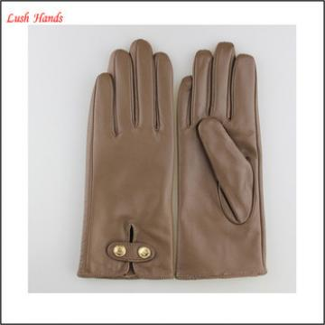 lady's fall, winter,spring popular genuine leather gloves with wholesale price