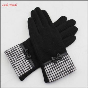women's cheap winter woolen warm hand knitted gloves