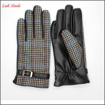 Manufacturer's wholesale price of PU leather gloves of the Parent-child gloves