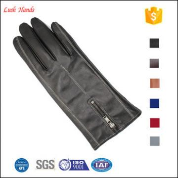 ladies contracted fashion leather keeping warm winter gloves