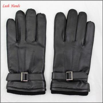 mens new style genuine sheepskin leather glove manufacture