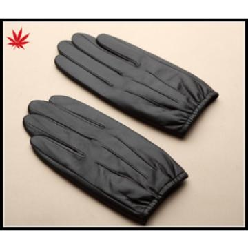 Men's leather gloves and lining thickening male thin sheepskin touch screen leather gloves