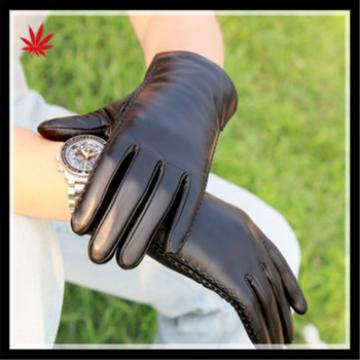 new 2016 men's fashion touch screen sheepskin gloves for wholesale