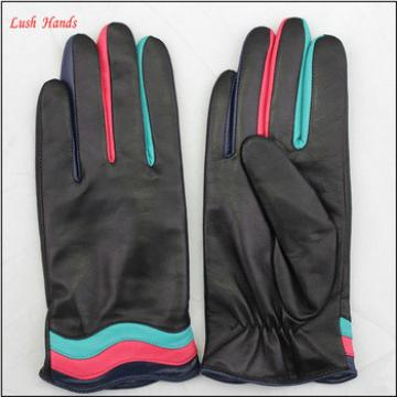 Merry christmas and new year girl and ladies gift leather gloves