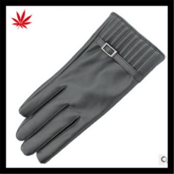 women's classic simple style high-quality wholesale leather gloves