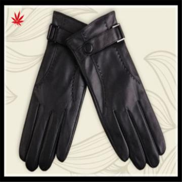 China made mens genuine well-design leather gloves for wholesale