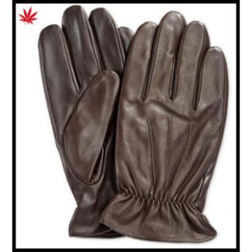 men's cashmere lined leather gloves winter men gloves