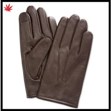 man's leather gloves The finger touch screen and the best sale of the most simple and easy male gloves