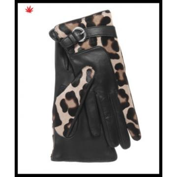 super women dresses fashion leapard print gloves for wholesale