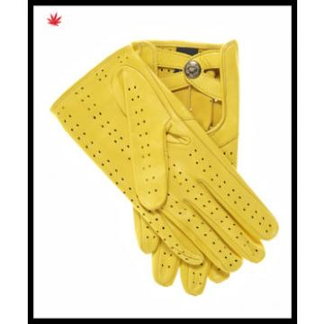 100% genuine new style fashion real leather gloves for ladies