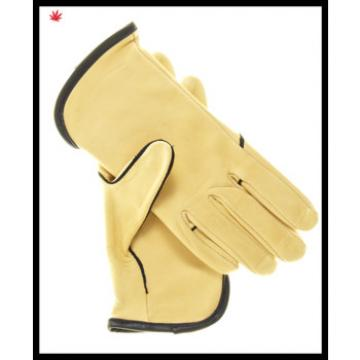 women sex dress yellow hand leather gloves with wholesale price