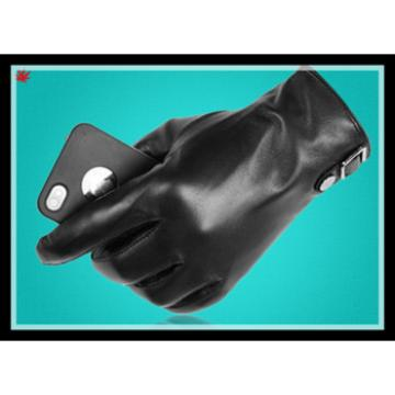 2016 men's new fashion leather gloves with wholesale price