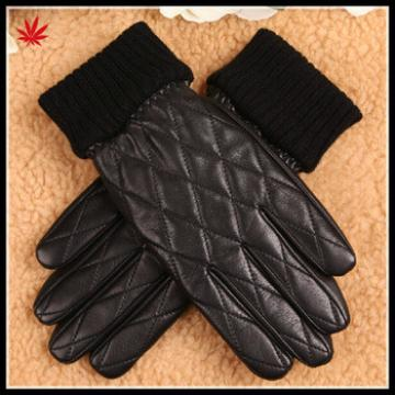 mens leather glove fashion style hot selling genuine leather glove