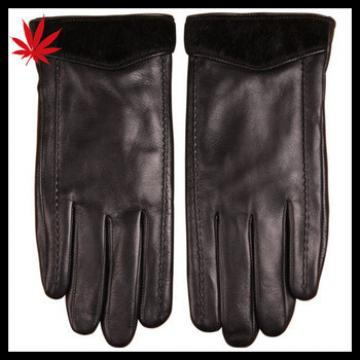 Men's leather basic style gloves from China manufactory
