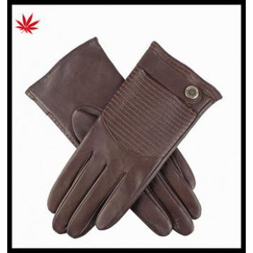 Women's winter genuine kidskin Leather Gloves