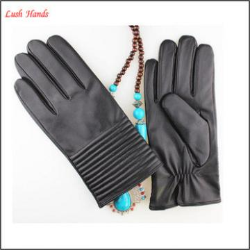 Special design customized leather gloves for men