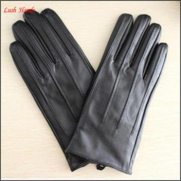 mens wearing fashion leather glove simple style leather glove
