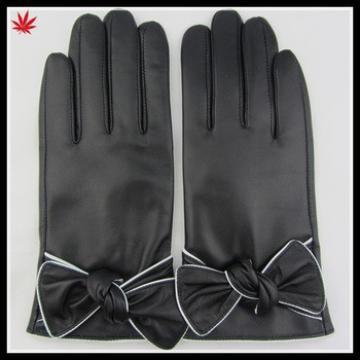 women winter fashion daily dress genuine leather glove