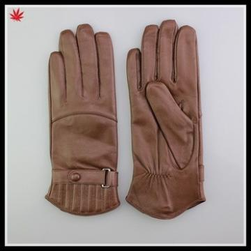 Custom made top quality sheepskin leather gloves importer