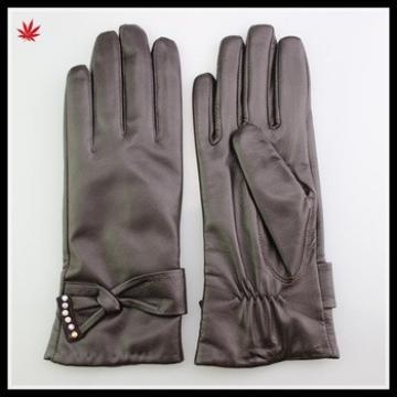high quality women dressed A grade sheepskin leather glove