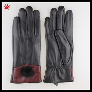 Wholesale custom made women leather gloves in Europe