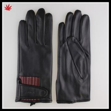 custom made thin sport leather gloves for women