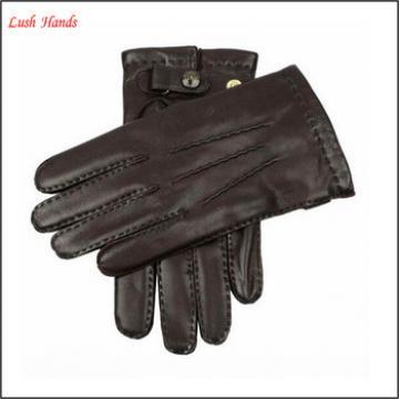 fashion basic genuine leather glove for men